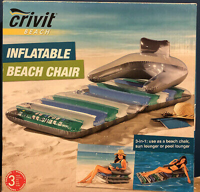 New Crivot Inflatable Adult Beach Chair • 2.99£