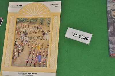 7yw Book Campaigns In India During The Seven Years War (A702340) • 12£