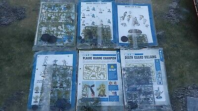 Warhammer 40K Nurgle Death Guard Army Set Spawn Tallyman And More Rrp £150 • 49.99£