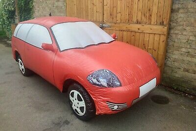 Full Size - Red Inflatable Promotional Car - Internal 230V Fan - Used • 190£