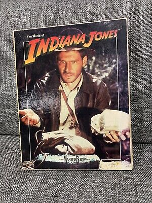 The World Of Indiana Jones - Master Book Game • 55£