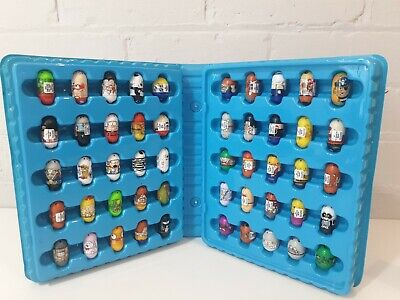 Mighty Beanz Bundle  With Case Collection Of 50 2010 Might Beans  • 24.99£