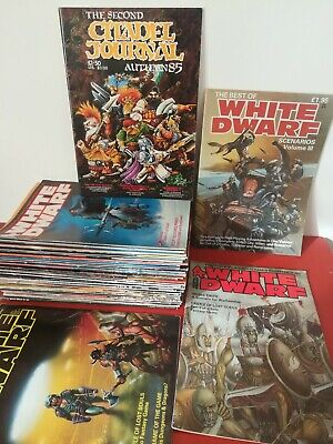 White Dwarf Multi Listing, 1984 To 1987. The Glory Years.  • 5£