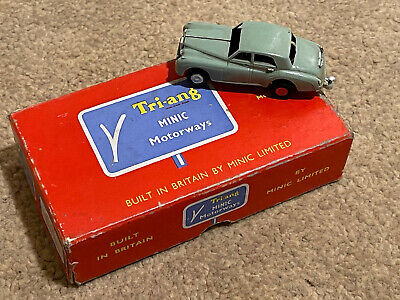 Tri-ang Minic Motorways M1541 Green Rolls Royce Silver Cloud Saloon Car Boxed • 44.99£