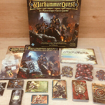 Warhammer Quest Adventure Card Game Fantasy Flight Games 2015 - Out Of Print! • 59.99£