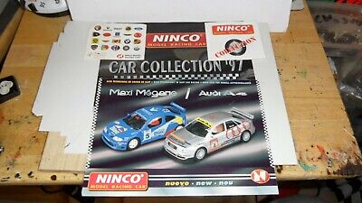 Ninco 1.32 Scale Catalogues X2 - Ninco Sticky Backed Decal X2 - Ex Condition  • 3.95£