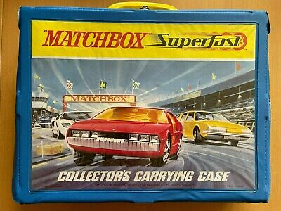 Matchbox Lesney Superfast - 48 Car Collectors Carry Case - Amazing Condition • 50£