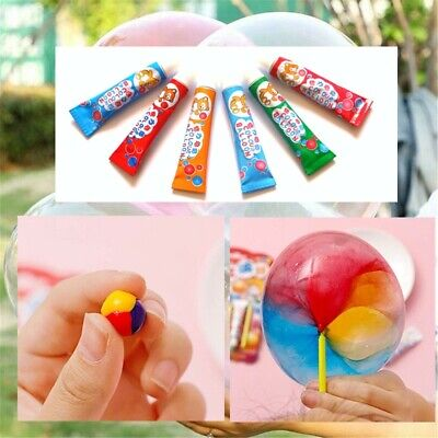 Magic Plastic Balloons - Bubble Balloon Gel Paste - Party Bag Toy - Choose Pack • 1.97£