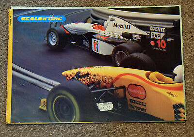 Scalextric Model Car Catalogue 1998 • 4£