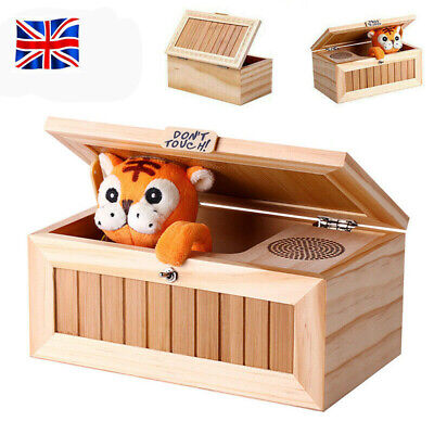 Useless Box Leave Me Alone Box Pastime Machine Don't Touch Tiger Toy With Sound  • 24.88£