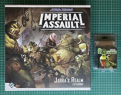 Star Wars : Imperial Assault : Jabba's Realm & Greedo Bundle Lot • 85£