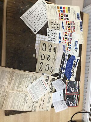 Triang Scalextric Transfers And Paperwork • 9.99£