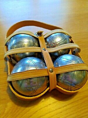 Set Of 4 Boules In Carry Case • 7£