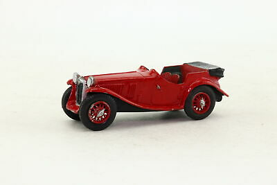 Kit Built White Metal; 1935 MG PA Midget; Red; Good Unboxed • 14.99£