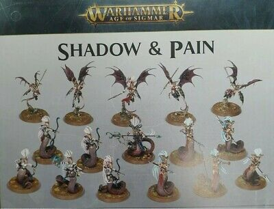 SHADOW AND PAIN - DAUGHTERS OF KHAINE HALF GAMESWORKSHOP AoS NEW ON SPRUE • 16.60£