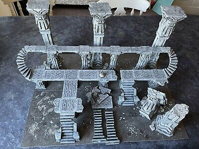 Warhammer AOS Or Warcry Scenery Painted Full Table Terrain Age Sigmar Gaming Mat • 61£
