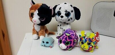 Lovely Bundle...ty....collection Of...x5...ty Beanies...plush • 1.95£