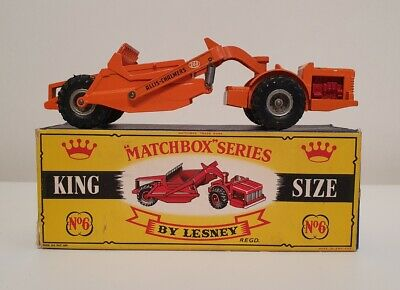 Matchbox King Size K6 – Allis-Chalmers Earth Remover – Boxed From 1961     • 29.99£