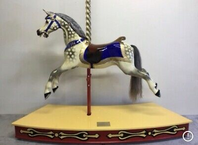 Antique Galloper Carousel Rocking Horse Shop Front • 3,600£