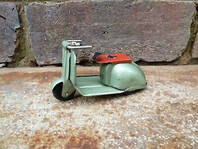 Vintage Tinplate Toy Scooter. • 16£