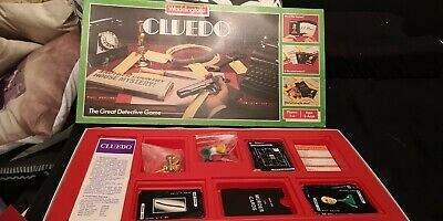 Vintage Waddingtons Cluedo Board Game -  Complete And Great Condition • 7£