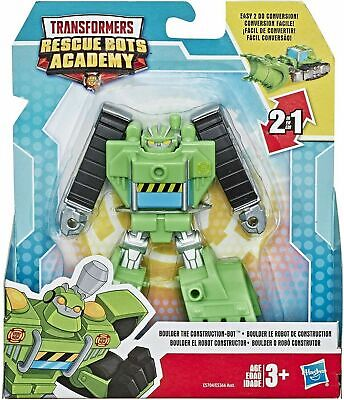Transformers Rescue Bots Academy Boulder The Construction-Bot - New In Stock • 19.99£