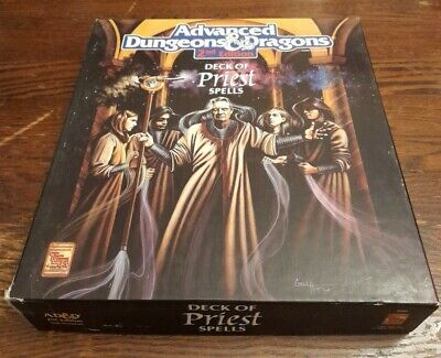 AD&D 2nd Edition. Deck Of Priest Spells. TSR 9362. • 33£