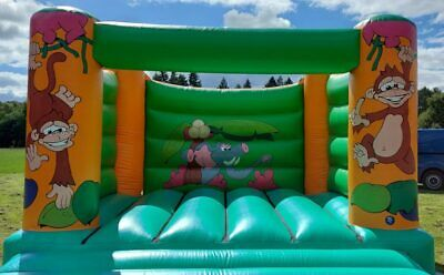 Commercial Bouncy Castle For Adults For Sale - 15' Jungle Design With PIPA Test • 795£