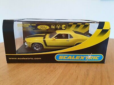 Scalextric C2574 - Ford Mustang Boss 302 1970 Street Car  Yellow  • 20£