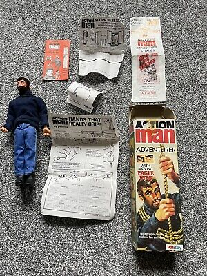 Vintage Action Man Adventurer By Palitoy. Immaculate Condition • 99£
