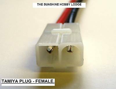 Tamiya,plug,female,two,wire,battery,connector,14 Awg • 2.70£
