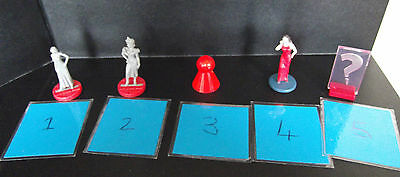 CLUEDO Characters- Spare Playing Piece... Various Styles FREEPOST UK  More Added • 2.20£