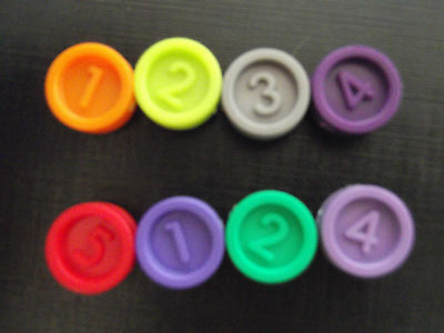 Replacement/spare Counter (s) Or Key For DOWNFALL Old & New :Various Colours/Nos • 1.75£