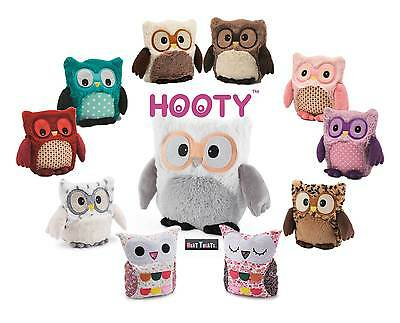 Intelex Hooty Owl Fully Microwavable Lavender Scent Plush Heatable Bedtime Toys • 14.95£