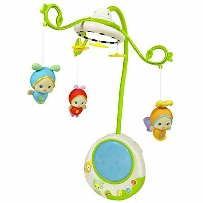 Playskool Gloworld 2-In-1 Firefly Cot Mobile  With Lights And Sounds   • 49.99£