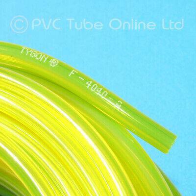 Tygon Fuel Tube/Hose - Plane Car Engine Mower Petrol 2mm 2.4mm 3.2mm 4.8mm 6.4mm • 9.95£