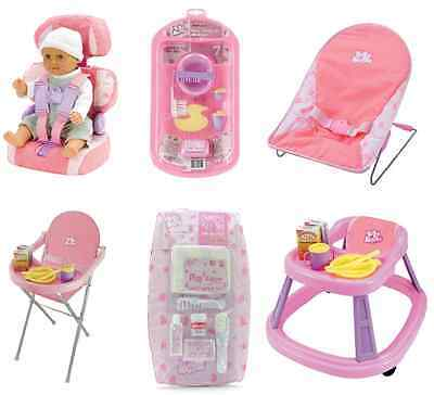 Casdon Baby Huggles Dolls Accessories Pretend Mummy Toys Pink Girls Games Dolly • 10.99£