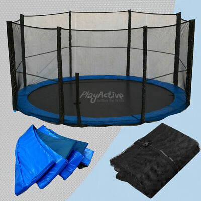 Trampoline Replacement Rain Cover, Spring Cover, Jump Mat Safety Net All Sizes • 49.99£
