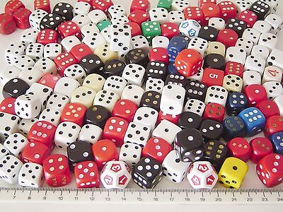 GAME DICE Different Colour Sizes & Styles [Spares Replacements] • 3.29£