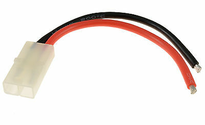 RC Female Tamiya Battery Connector 14awg 10cm Wire • 1.59£