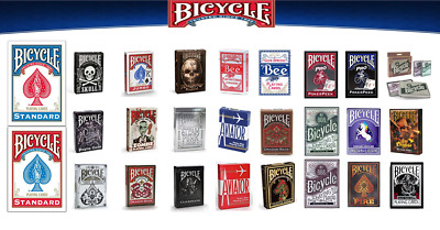 Bicycle Playing Cards Decks Official Range Special Casino Poker Magic Game Cards • 5.89£