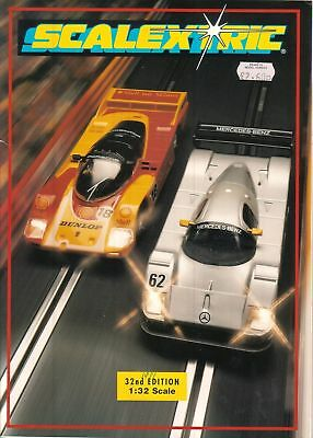 Scalextric 1991 Catalogue - Edition 32 • 11£