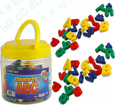 Magnetic Alphabet Letters Lower Case & Maths Numbers Fridge Magnets Gift Set  • 8.54£