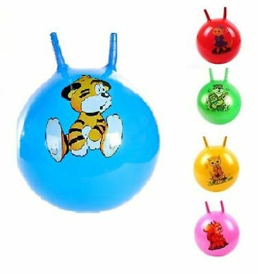 15  Kids Jump & Bounce Space Hopper Bouncer Retro Ball Outdoor Toy  • 7.99£
