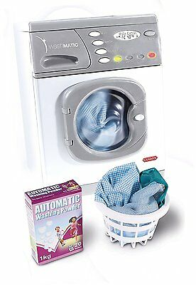 Casdon Little Helpers Hotpoint Electronic Washer Washing Machine Toy Playset • 27.84£
