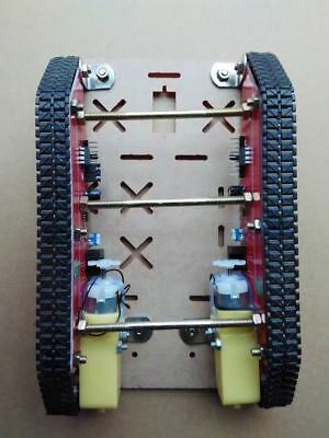 Tracked Tank Car Base Smart Car With Motor Driver Speed Test For Robot DIY Kit • 32£