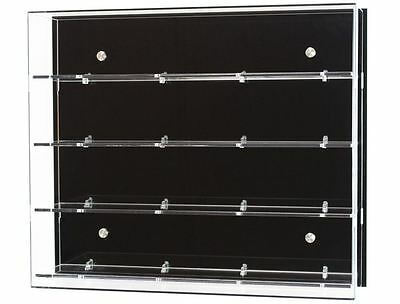 Acrylic Wall Display Cabinet, Choice Of 3, 4 Or 5 Shelves • 141.98£