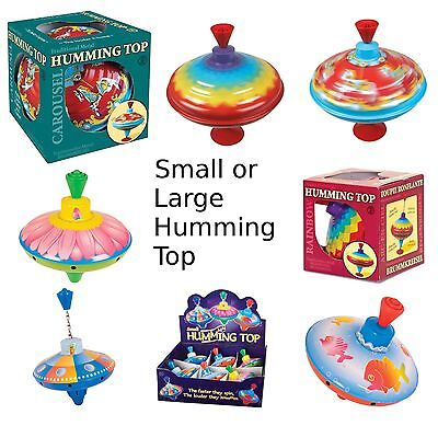 Traditional Humming Top Baby Child Toddler Toy Classic Spinning Carousel Rainbow • 15.95£