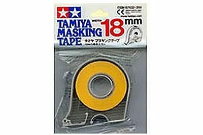 Tamiya Masking Tape 18m Rolls 6,10 Or 18mm Wide  £1.20 Post For Any Quantity • 5.15£