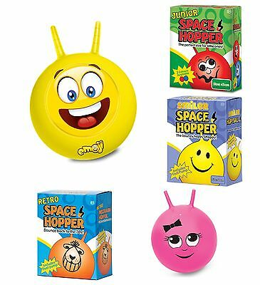 Retro Space Hopper UNICORN Kids Adults Fun Outdoor Toy Pink Sally Hopper • 15.99£